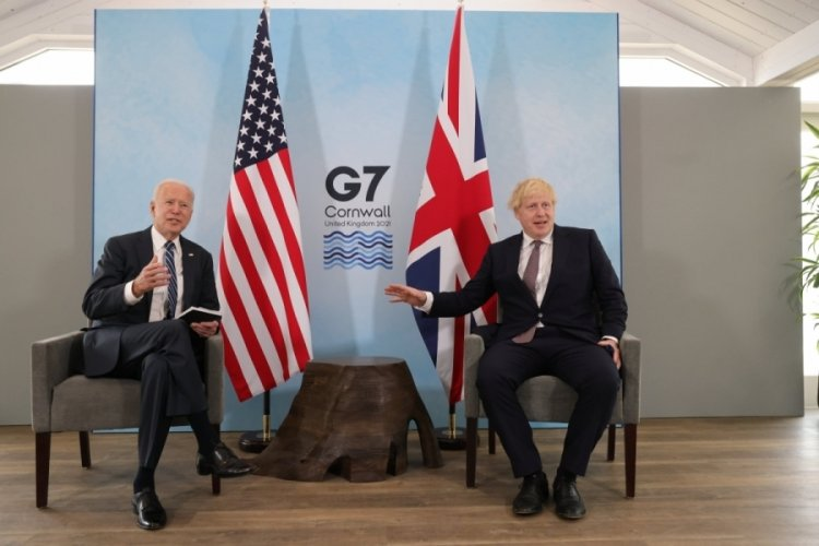 Biden ve Johnson görüştü