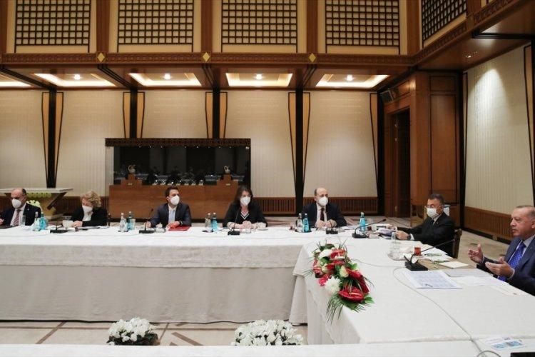 Cumhurbaşkanı Erdoğan, akademisyenlerle müsilaj sorununu görüştü