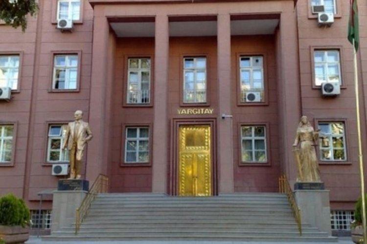 Yargıtay üyeliğine seçilme kararı Resmi Gazete'de