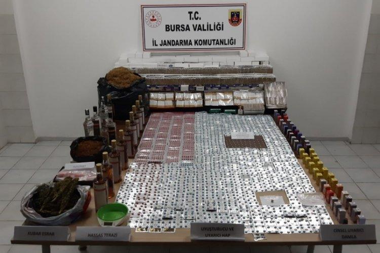 Bursa'da uyuşturucu operasyonuna 1 tutuklama