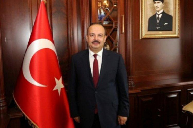 """Bursa Valisi Canbolat'tan """"Türk Kızılay'ının 153. Kuruluş Yıl Dönümü"""" mesajı"""