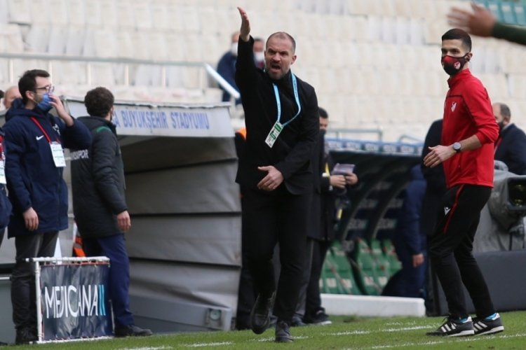 Bursaspor Teknik Direktörü Er, bu sezon bir ilk yaşayabilir