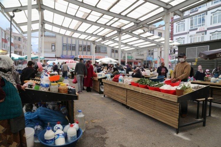 Köylü Pazarı yeni yüzüyle hizmete açıldı