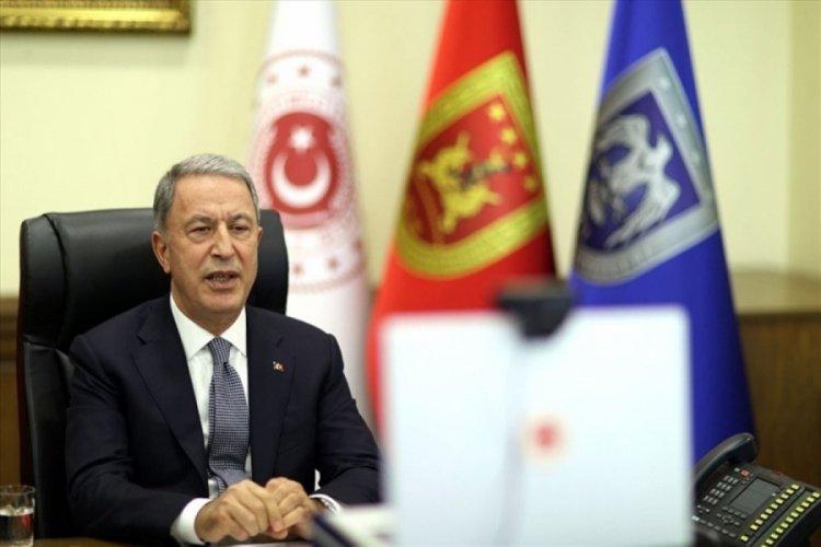 Bakan Akar, İtalya ve İngiltere Savunma Bakanları ile üçlü toplantıda bir araya geldi