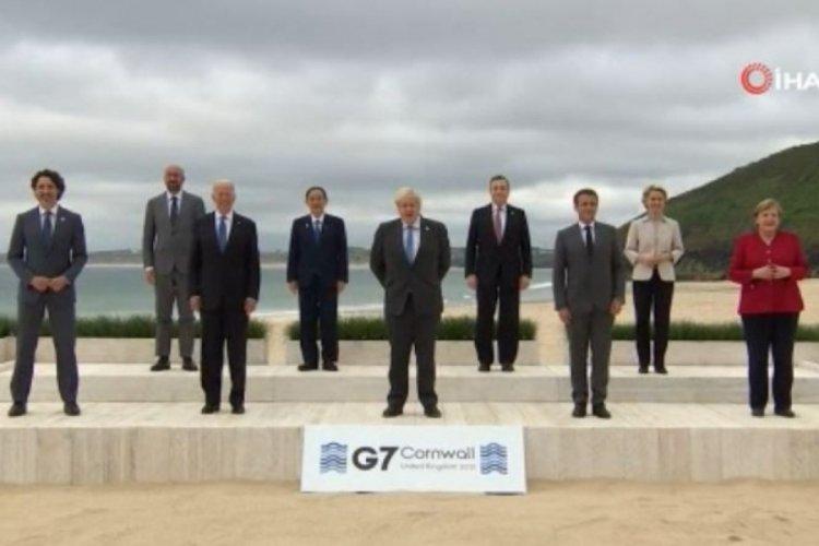 G7 Liderler Zirvesi'nin ilk toplantısı gerçekleştirildi