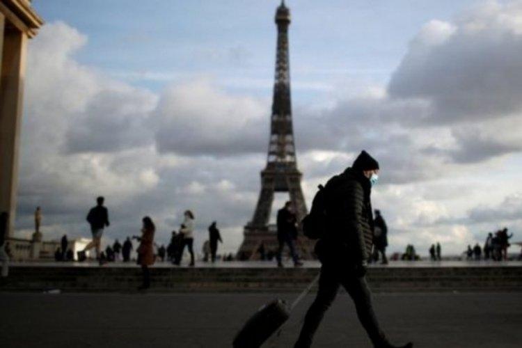 Fransa'da son 24 saatte 3 bin 871 yeni vaka