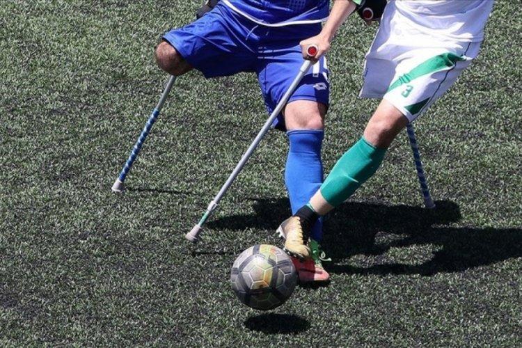 Ampute Futbol Süper Ligi'nde 6'ncı gün maçları oynandı