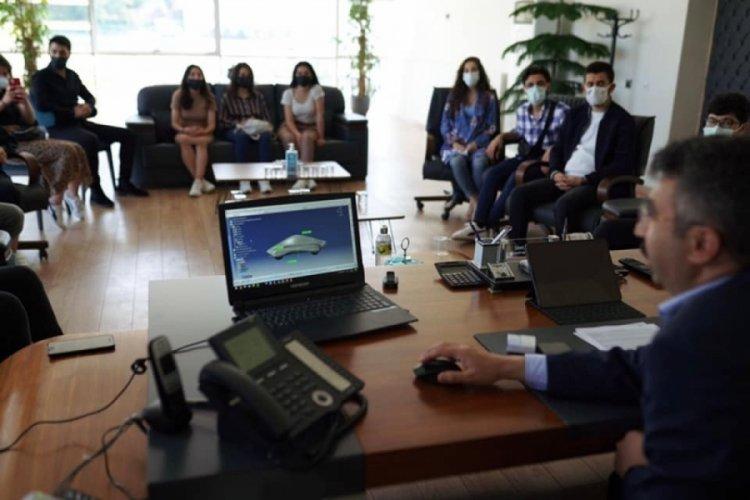 Bursa Yıldırım Belediye Başkanı Yılmaz gençlerle buluştu