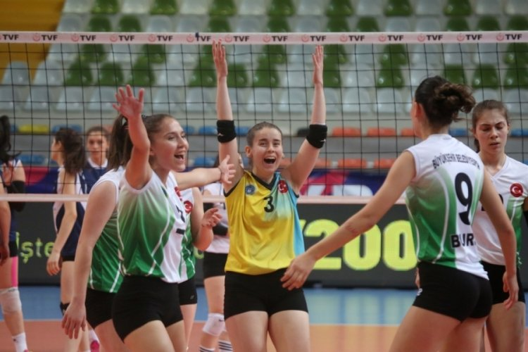 Bursa Büyükşehir Belediyespor Final Grubu'nda