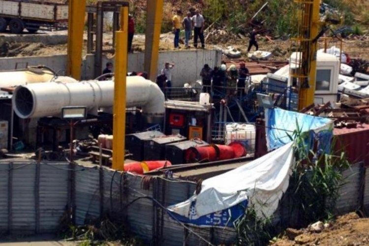 İSKİ şantiyesini su bastı: 1 işçi son anda kurtarıldı