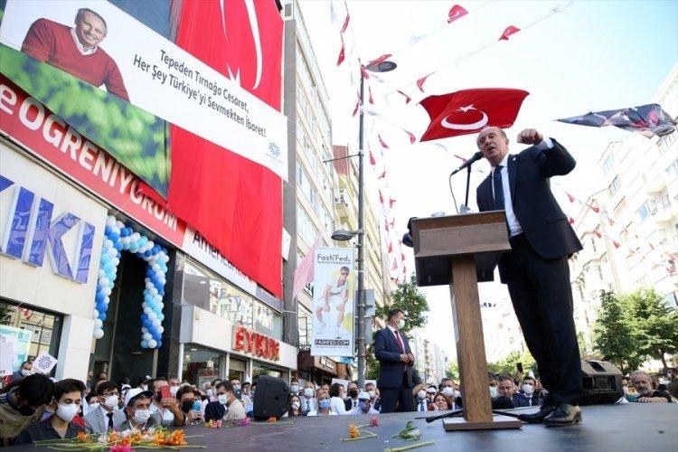 Muharrem İnce, İstanbul İl Başkanlığı açılışına katıldı
