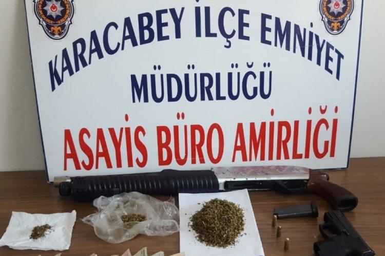Bursa Karacabey'de uyuşturucu operasyonu