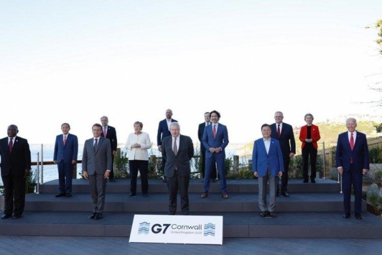 G7 Zirvesi'nin 2'nci günü bitti