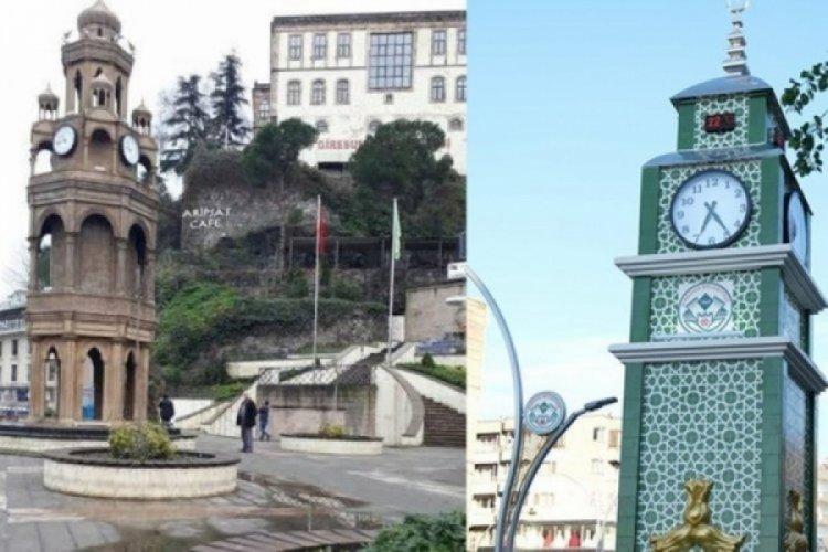 Tartışma yaratan saat kulesiyle ilgili belediyeden açıklama geldi