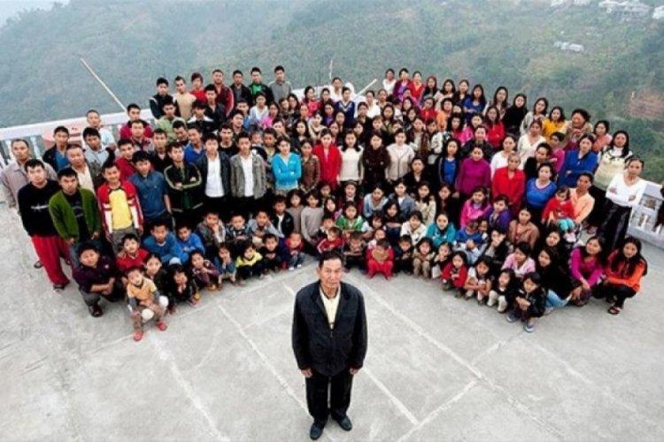 Ziona Chana hayatını kaybetti: Geride 38 eş ve 89 çocuk bıraktı