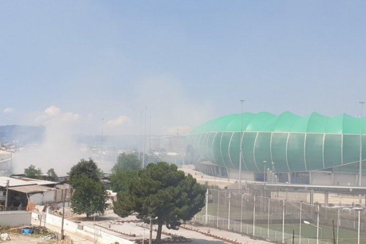 Timsah Arena'daki yangın uyarısına Bursaspor'dan yanıt