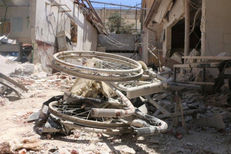 PKK'nın saldırdığı hastane harabeye döndü