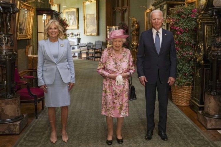 Joe Biden: Kraliçe bana annemi hatırlattı