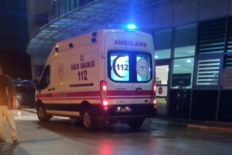 Samsun'da silahlı çatışma
