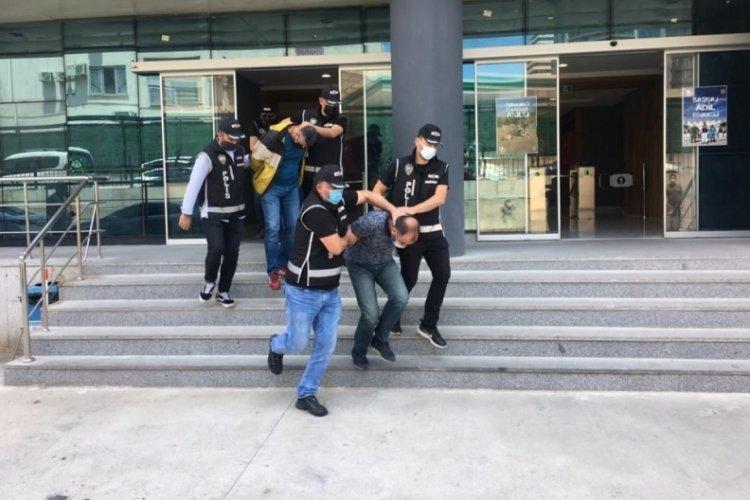 Bursa'da iş insanlarını dolandıran 4 şüpheli tutuklandı