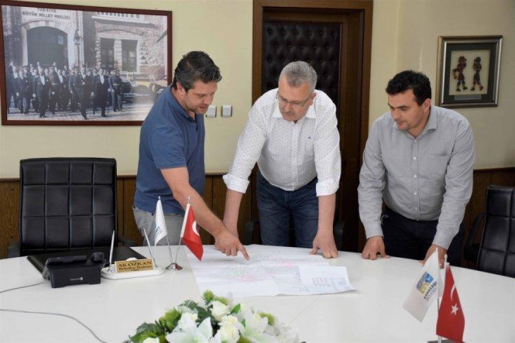 Bursa Karacabey'in altyapı çalışmaları aralıksız devam ediyor
