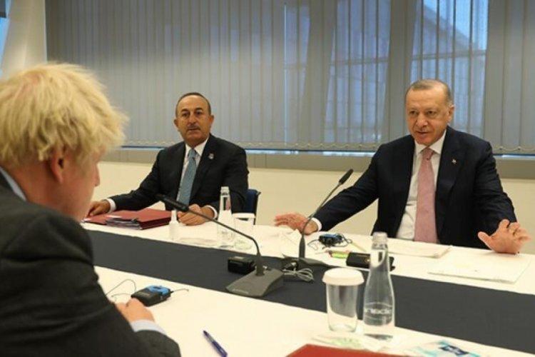 Cumhurbaşkanı Erdoğan NATO Karargahında: Peş peşe kritik görüşmeler