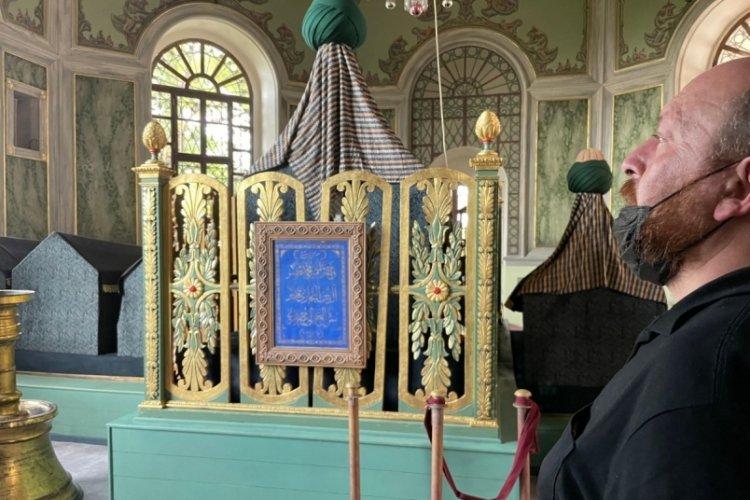 Bursa'da Emirsultan Türbesi ziyarete açıldı