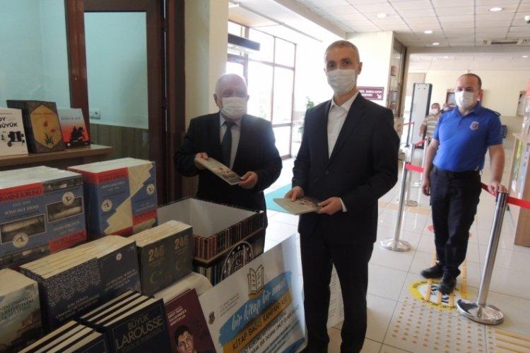 Tutuklu ve hükümlülere kitaplar gönderildi