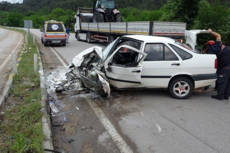 Karabük'te feci kaza! 7 yaralı