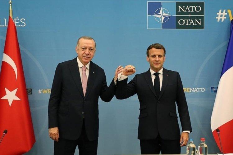 Macron: Libya ile ilgili Erdoğan ile birlikte çalışacağız