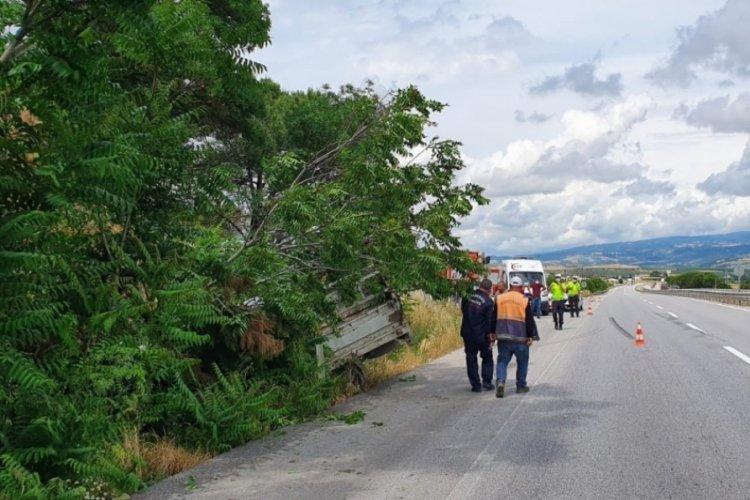 Balıkesir Bursa yolunda kaza