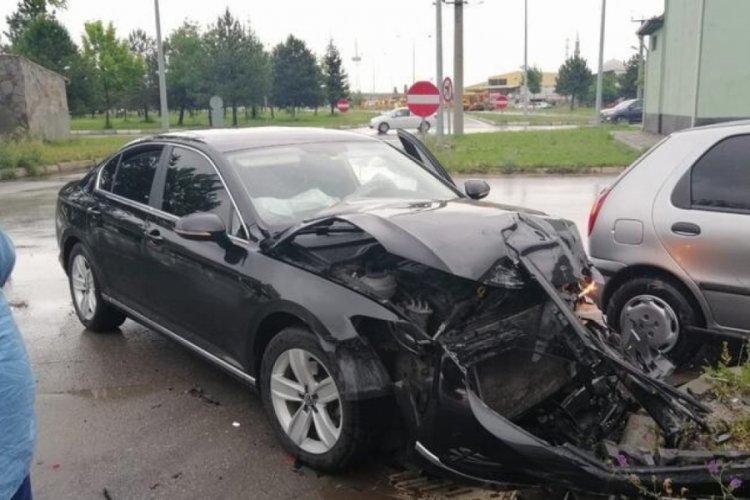 Kütahya Sağlık Bilimleri Üniversitesi (KSBÜ) Rektörü, trafik kazası geçirdi