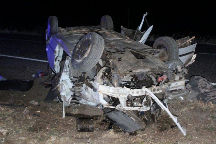 Taziye dönüşü feci kaza