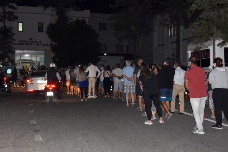 Bodrum'da aşı seferberliği