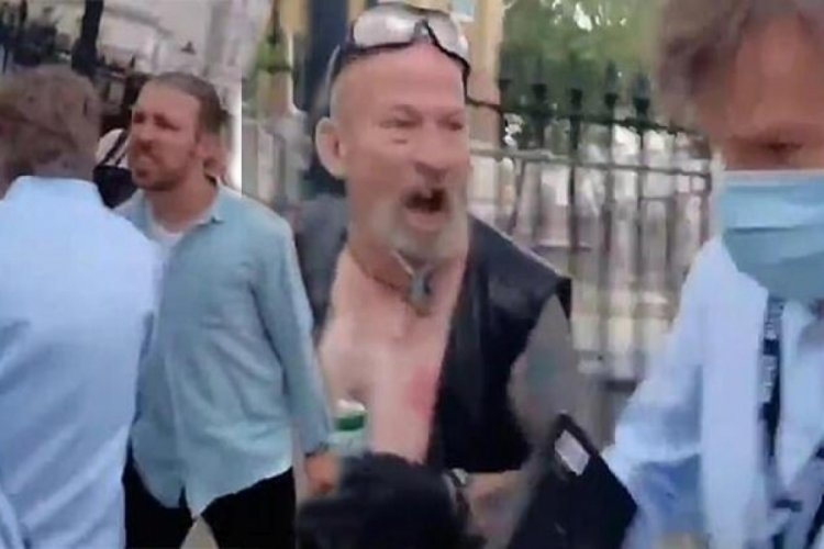 BBC muhabiri saldırıya uğradı