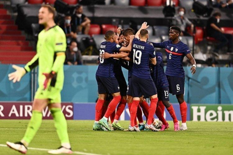 EURO 2020 F Grubu maçında devlerin kapışmasında Fransa kazandı