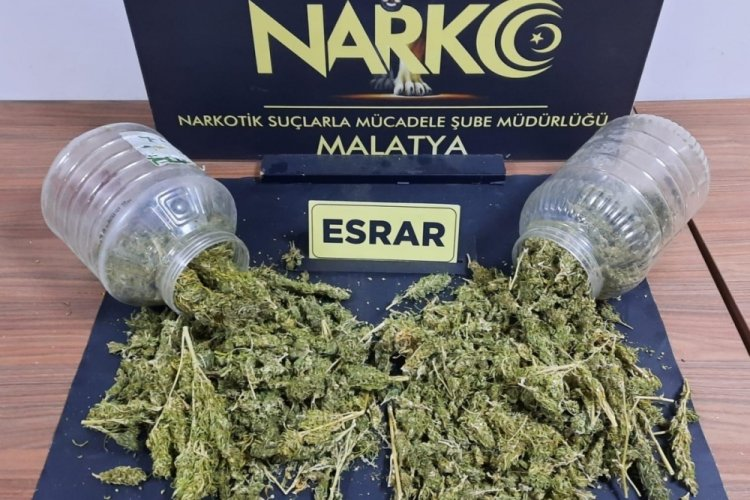 Malatya'da uyuşturucuoperasyonunda 7 tutuklama