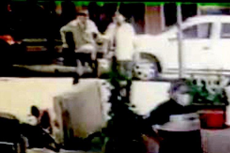 Avcılar'da garsonun bıçaklanma anı kamerada