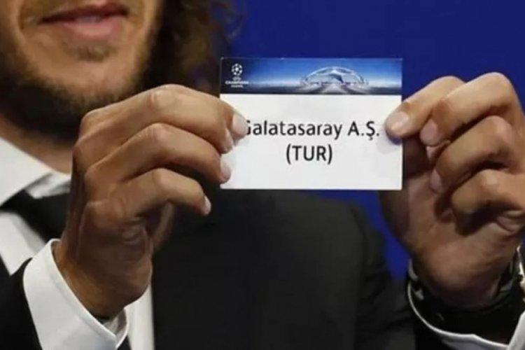 Galatasaray'ın Şampiyonlar Ligi elemesindeki rakibi bugün belli oluyor!