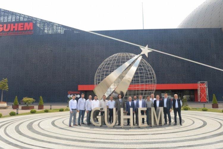 MÜSİAD Bursa Şubesi'nden GUHEM'e ziyaret