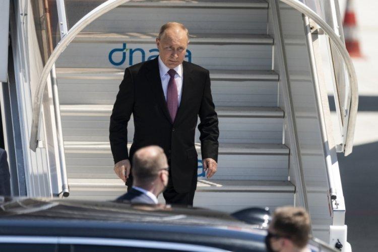 Rusya Devlet Başkanı Putin, Cenevre'ye geldi