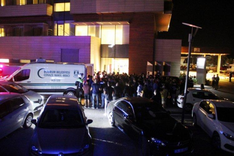 Bodrum'da şehit olan polis memuru gözyaşlarıyla uğurlandı