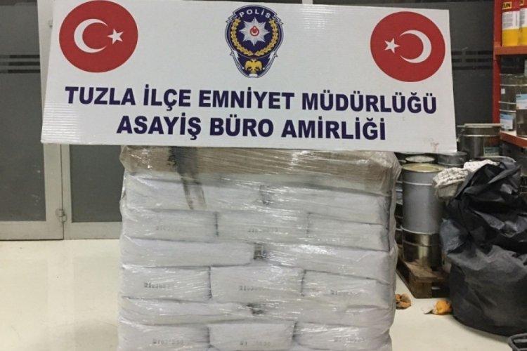 Dolandırıcılar, tonlarca kimyasal maddeyi Bursa'ya sevk etti