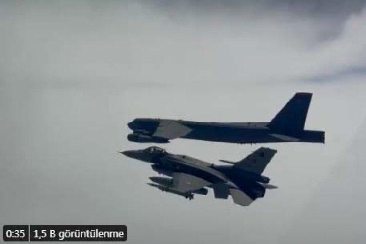 MSB: F-16 uçaklarımız ABD'nin B-52 uçaklarına refakat etti