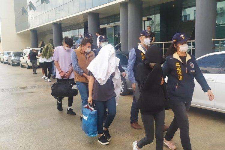 Bursa'da yasa dışı bahis operasyonunda gözaltına alınan 12 kişi serbest bırakıldı