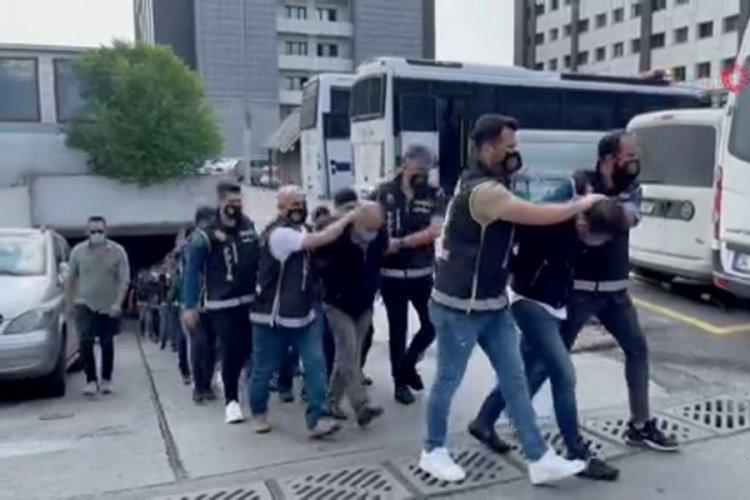 İstanbul'da 'Karagümrük' çetesi üyeleri adliyeye sevk edildi