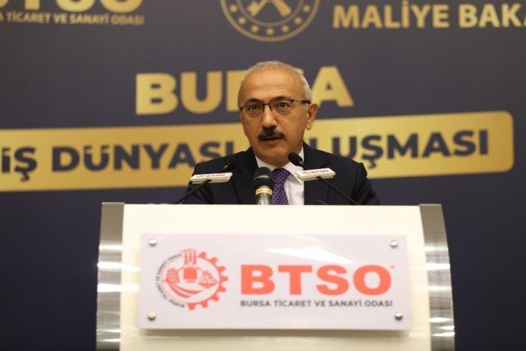 Bakan Elvan'dan Bursa'da döviz kuru mesajı!