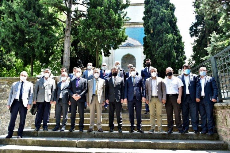 Bursa Yıldırım'da Çelebi Mehmet, dualarla anıldı