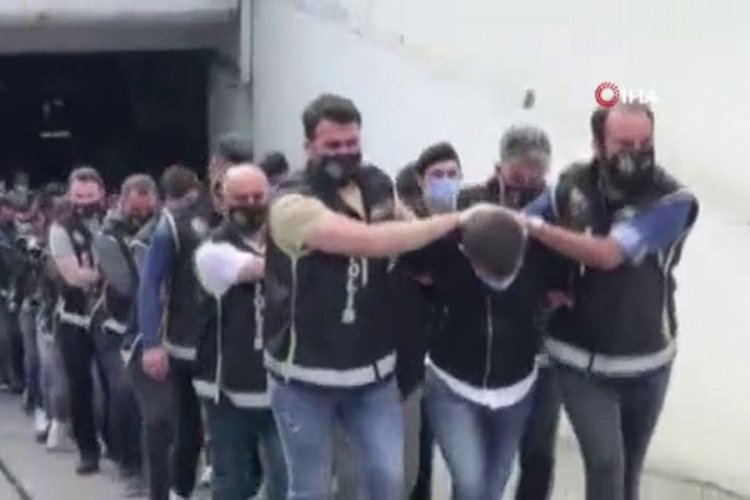 'Karagümrük' çetesi soruşturmasında 19 şüpheli tutuklandı