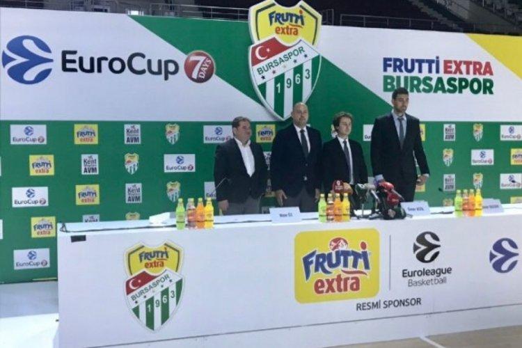 Frutti Extra Bursaspor yine Euro Cup'a katılıyor
